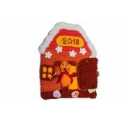 Новогодний домик. Развивающий планшет