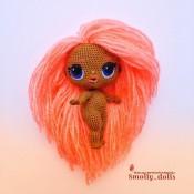 Мастер класс по вязанию куклы ЛОЛ