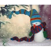 Уснувший снеговик
