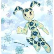 Дженни XJ-9 Робо-девочка Снегурочка из мотивов МК
