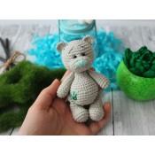 МК весенний мишка Тедди