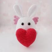 Зайка-валентинка