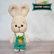 Мастер-класс по вязанию Зайчёнка
