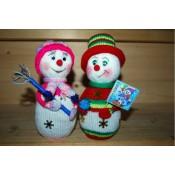 Веселые Снеговички. МК