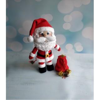 Мастер-класс по вязанию крючком. Санта Клаус