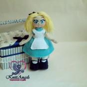 Мастер-класс по вязанию крючком.Кукла Алиса