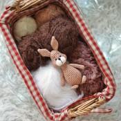 Весенний заяц крючком