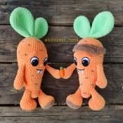 Плюшевая Морковка