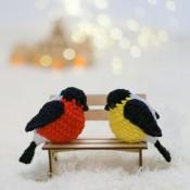 Плюшевая Птичка