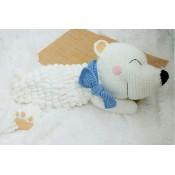 МК белый медведь-пижамница
