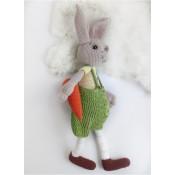 """Вязаная игрушка Зайка """"Кролик Роберт"""""""