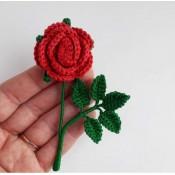 Брошь одуванчик мак подсолнух астра роза