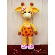 Мастер-класс «Жирафка Маруся»