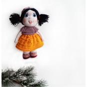 Мастер-класс по вязаной куколке Алиса