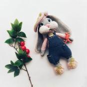 Мастер-класс по вязаной зайке Аврора