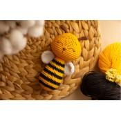 Мастер класс Пчелка погремушка