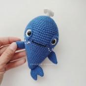 """Маленький кит. Коллекция """"Малявочки"""""""