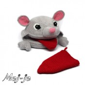 Логопедическая Мышка. Игрушка с язычком.