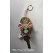 МК. Ключница Мышка