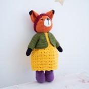 Мастер-класс по вязанию игрушки Лисичка Молли