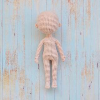 Базовое тело вязаной куклы