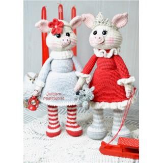 Свинки Пинки и Свити.
