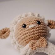 Грызунок - погремушка Овечка