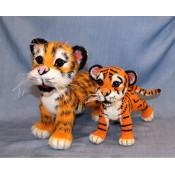 Ручной уссурийский тигренок
