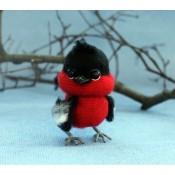 """МК """"Снегирь"""" Серия птички невелички."""