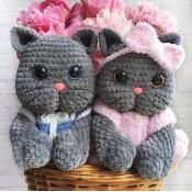 Кошечка и котик