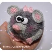 МК. Ёшкина мышь! Авторская игрушка