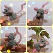 МК. Новорожденный мышонок Фингер