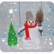 МК. Снеговик-почтовик