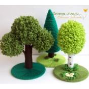 Сказочный лес (спицы)