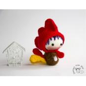 Маленькая куколка Петушок из серии Tanoshi