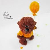 Мишка с воздушным шариком