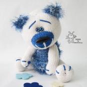 Мишутка с синим носиком