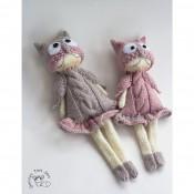 Совы. Куклы Сплюшки