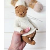 МК Медведь в стиле Тедди с описанием свитера
