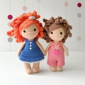 МК кукла Кудряшка