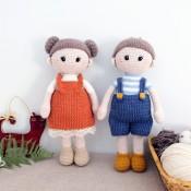 2 МК кукла Лея и Алёша