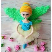 """Каркасная куколка """"Бабочка-танцовщица"""""""