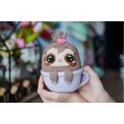 Ленивец в чашке