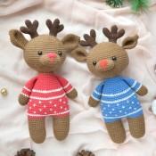 """МК """"Олень в рождественском свитере"""
