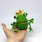 Пасхальная игрушка. Царевна Лягушка.