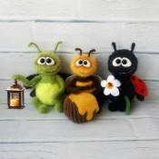 МК Насекомыши (божья коровка, пчелка, светлячок)