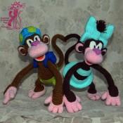 Озорные обезьянки КоКо и Кокосик