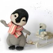 Мастер- Класс « Пингвинёнок Лина »