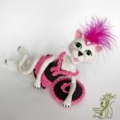 Вязаная кошечка Изысканная ГлаМурочка. Кот крючком