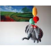 "Мастер-класс "" Летающий Слон с шарами."""